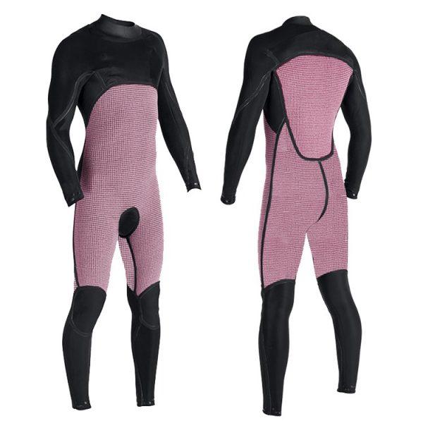 Inside of wetsuit